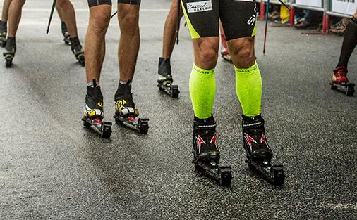 J Sport tarjoaa mahdollisuuden rullasuksien testaamiseen. Kuva: Skigo / Larsson